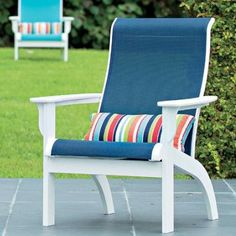 Telescope Casual Adirondack Chair Seat Color: Aqua, Frame Finish: Textured Kona