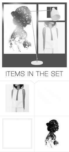 """modernism in black and white"" by art-gives-me-life ❤ liked on Polyvore featuring art, modern, contestentry and artinspired"