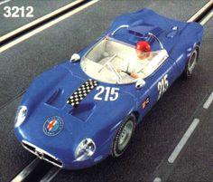 Fleischmann Alfa Romeo tipo 33 Periscopica 3212 blue