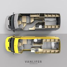 , For those technically minded vanlifers and motorhome owners out there, get your . , For those technically minded vanlifers and motorhome owners out there, get your current home on wheels or layout ideas Send us photos or . Van Conversion Interior, Camper Van Conversion Diy, Van Interior, Van Conversion Layout, Camper Interior Design, Motorhome Interior, Custom Camper Vans, Custom Campers, Rv Campers