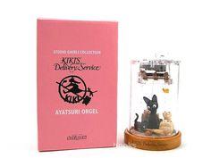 博客來-《宮崎駿魔女宅急便》黑貓&奇奇貓 活動式音樂盒