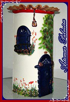 Tejas artesanales decoradas con amor y dedicación