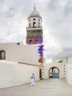 Iglesia de Ntra, Sra. de Guadalupe, Tequise (Lanzarote), Canary Islands_ Spain