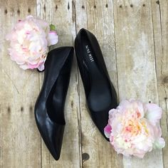 """Nine West leather pumps A wardrobe staple- worn twice great condition all leather 2"""" heel Nine West Shoes Heels"""