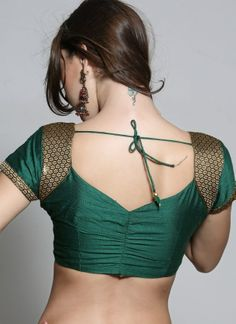 Latest Blouse Back Neck designs, Blouse Back Designs for Women