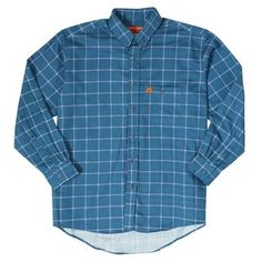 38ca954d Wrangler FR Lightweight Plaid Shirt - Royal Blue