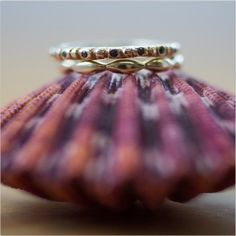 Sea shells and stacks! #shaesby #stack #rings #seashell #blackdiamond #gold #bling #chic #finejewelry #jewelry #handmade #austin #tx #atx