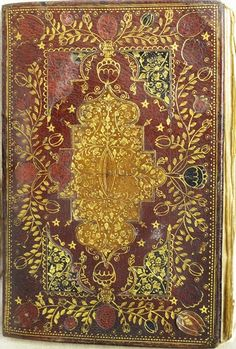 Book of Common Prayer, 1676. A Mearne binding. Mearne was the Royal Book binder for King Charles II
