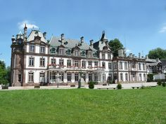 Chateau de Pourtales - stayed in this beautiful castle when I studied in Strasbourg, France. miss it so much <3