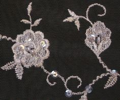Embroidered net - Tela bordado tul | Golden Dolphin Lace Wholesale