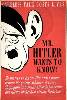"""""""Mr. Hitler wants to know!"""" 'How to create a fascist police state' Marginalize and persecute' based on race, religion, lineage, whatever. When we're divided, we're weak. Speak out against hate, speak out against bigots. ...choose a prepared, tough, pro-women candidate over a 1950s egotist -a crazy liar who loves to hate and is against free speech, plurality & the media. Get more involved Democrats!! Every damn vote counts..."""