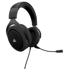 Corsair - Wired Stereo Gaming Headset for PC, Xbox One, PlayStation Nintendo Switch and Mobile Devices - Carbon (Black) Best Gaming Headset, Gaming Headphones, Wireless Headset, Gaming Accessories, Desktop Accessories, Surround Sound, Nintendo Switch, Playstation, Audio Hifi