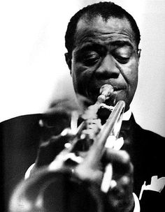 Louis Armstrong. A definite inspiration for the new album I'm working on.