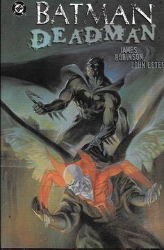 Batman / Deadman: Death & Glory # 1 DC Comics Hard Cover Dust Jacket