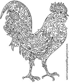 animals 57 advanced coloring pages - Advanced Coloring Pages Animals