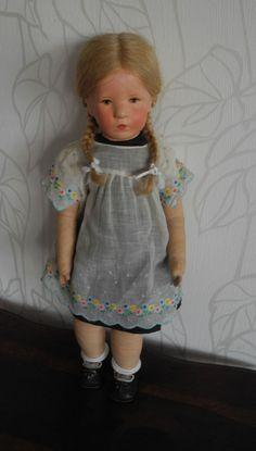 Käthe Kruse Puppe IIsebill von 1930 in Antiquitäten & Kunst, Antikspielzeug, Puppen & Zubehör | eBay!