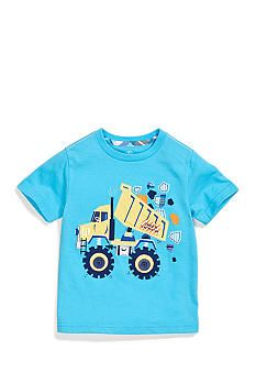 "J Khaki™ Short Sleeve Novelty Crew Tee Toddler Boys in ""Dump Truck"" 4T"