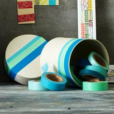 Decorate with Tape -update an old container