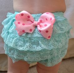 4a49ed441 baby frilly pants · Aqua and Pink Baby girl Bloomer Diaper cover baby by  AubreyGianna Newborn Photo Props, Newborn