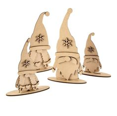 Set of four Nordic mdf freestanding gnomes. premium medite Olifantjie designed therefore unique and copyright to Olifantjie Laser Cutter Ideas, Laser Cutter Projects, Cnc Projects, Christmas Wood, Christmas Projects, Christmas Ornaments, Xmas, Styrofoam Art, Handmade Christmas Decorations