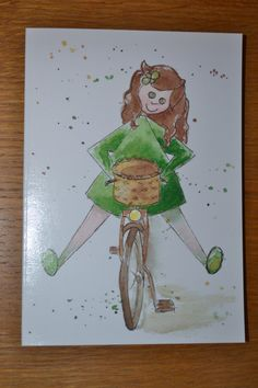Writing note card greetings card connect letter writing card happyness greetings card happy birthday card feel good greetings card any happy occasion greetings or letter writing card bike card m4hsunfo
