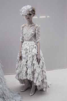 Maria Loks at Chanel Haute Couture S/S 2013