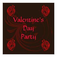 Valentine Party Invitation