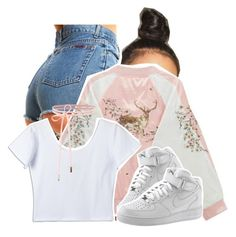 """""""Untitled #1393"""" by queen-tiller ❤ liked on Polyvore featuring NIKE"""