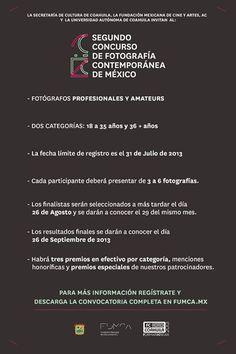 Segundo Concurso de Fotografía Contemporánea de México | Levántate y descubre... #Concurso #Fotografia #Mexico