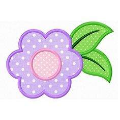 Flower 3 Applique - 3 Sizes! | What's New | Machine Embroidery Designs | SWAKembroidery.com Dollar Applique