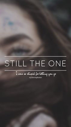 Still The One // One Direction // ctto: @stylinsonphones (on Twitter)