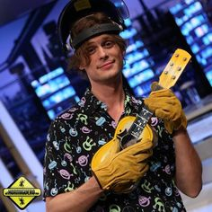 What's with the welding equipment if you're just going to play a ukulele Matt? Sometimes I wonder what's going on in that head of yours...