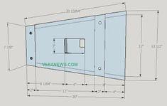 Skema Box Line Array 10 inch + tweeter Speaker Plans, Speaker Box Design, Subwoofer Box, Loudspeaker, Line, Bar Chart, How To Plan, Android, Klipsch Speakers