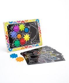 Take a look at the Switch & Spin Magnetic Gear Board Set on #zulily today!