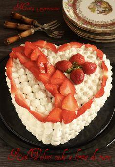 """La """"Red Velvet cake"""" è un molto goloso e a mio avviso molto scenografico, ottimo per festeggiare eventi importanti e non solo!"""