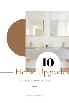 Are you looking to affordably update your house sometime this year? I've got you! Whether you're keeping your home or selling it, here are some easy and inexpensive ways home upgrades to transform your space - on a budget.
