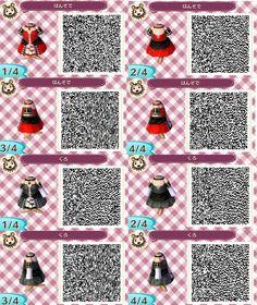 Halloween Dresses Animal Crossing New Leaf Qr Code ACNL | Animal ...