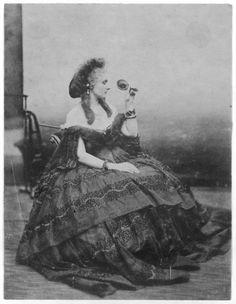 Portrait de la Castiglione par Pierson.