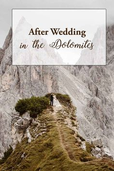 Rachel and Brendan wanted their after wedding to be set in a beautiful mountain scenery and chose the Italian Dolomites for their honeymoon. Adventure Couple, Elopement Inspiration, Northern Italy, Couple Shoot, Wedding Shoot, Wedding Bells, Destination Wedding, Scenery, Hiking