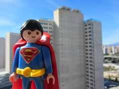 Playmobil superman... This is awesome!!!!!!!!!!!!