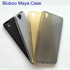 For Bluboo Maya Case Silicone Cover Soft TPU Cell Phone Matte Pudding Protective Cover Funda For Bluboo Maya 5.5inch