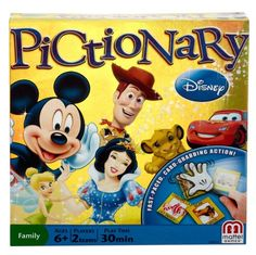 Disney Pictionary Game * You can get additional details at the image link.Note:It is affiliate link to Amazon.