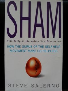 Brilliant book which sheds a very different and objective light on the 'self help and actualisation movement'.