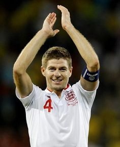 @mcpinzoni Steven Gerrard - Midfielder - England | Community Post: The Definitive List Of Hot Soccer Players In The 2014 World Cup