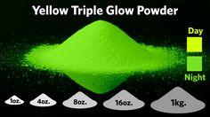 Yellow Triple Glow Powder