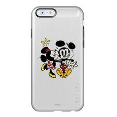 Minnie Kissing Mickey Incipio Feather® Shine iPhone 6 Case