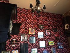 Record Room im Sweetleaf Cafe in Queens (New York City).