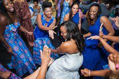 Nigerian Wedding Reception Alpha Kappa Alpha