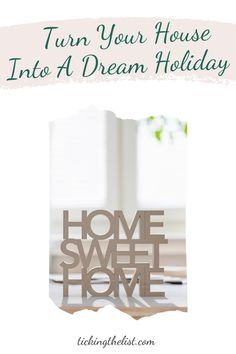 We may not be able to travel, and you may not even be ready to have a staycation somewhere in your own country. But here are some ideas to turn your own home into a holiday destination.