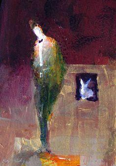 ROBERT BURRIDGE: Magic Circus 16 Paintings I Love, Original Paintings, Cheap Art, Circus Art, Purple Art, Painting Gallery, Figure Painting, Medium Art, Art World